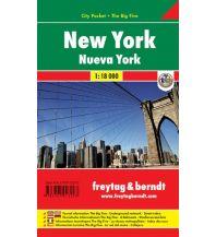 f&b Stadtpläne New York, Stadtplan 1:18.000 Freytag-Berndt und ARTARIA