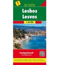 f&b Straßenkarten freytag & berndt Auto + Freizeitkarte Griechenland, Lesbos 1:50.000 Freytag-Berndt und ARTARIA