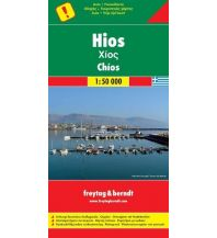 f&b Straßenkarten freytag & berndt Auto + Freizeitkarte Griechenland, Hios/Chios 1:50.000 Freytag-Berndt und ARTARIA