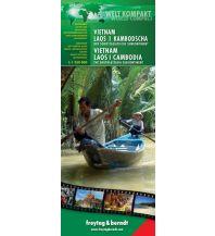 f&b Straßenkarten Vietnam-Laos-Kambodscha - World Compact Series Freytag-Berndt und ARTARIA