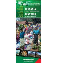 f&b Straßenkarten Tansania - World Compact Series Freytag-Berndt und ARTARIA
