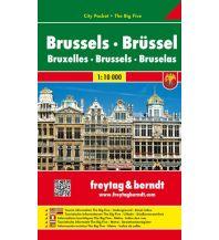 f&b Stadtpläne Brüssel, Stadtplan 1:10.000 Freytag-Berndt und ARTARIA