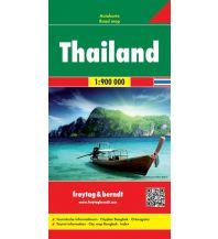 f&b Straßenkarten f&b Autokarte Thailand 1:900.000 Freytag-Berndt und ARTARIA