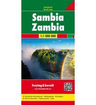 f&b Straßenkarten f&b Autokarte Sambia 1:1 Mio. Freytag-Berndt und ARTARIA