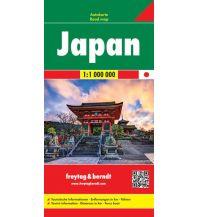 f&b Straßenkarten f&b Autokarte Japan 1:1 Mill. Freytag-Berndt und ARTARIA