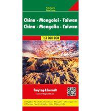 f&b Straßenkarten f&b Autokarte China - Mongolei - Taiwan 1:3 Mio. Freytag-Berndt und ARTARIA