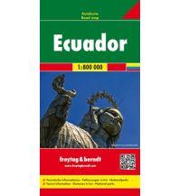f&b Straßenkarten f&b Autokarte Ecuador - Galapagos 1:800.000 Freytag-Berndt und ARTARIA