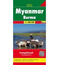 f&b Straßenkarten f&b Autokarte Myanmar - Burma 1:1 Mio. Freytag-Berndt und ARTARIA