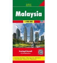 f&b Straßenkarten f&b Autokarte Malaysia 1:900.000 Freytag-Berndt und ARTARIA