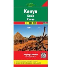 f&b Straßenkarten f&b Autokarte Kenya 1:1.000.000 Freytag-Berndt und ARTARIA