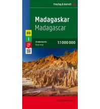 f&b Straßenkarten f&b Autokarte Madagaskar 1:1 Mio. Freytag-Berndt und ARTARIA