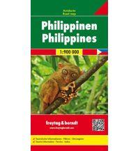 f&b Straßenkarten f&b Autokarte Philippinen 1:900.000 Freytag-Berndt und ARTARIA