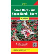 f&b Straßenkarten f&b Autokarte Korea Nord - Süd 1:800.000 Freytag-Berndt und ARTARIA