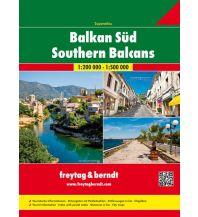 f&b Straßenkarten freytag & berndt Autoatlas, Balkan Süd 1:200.000 Freytag-Berndt und ARTARIA