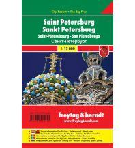 f&b Stadtpläne Sankt Petersburg, Stadtplan 1:15.000 Freytag-Berndt und ARTARIA