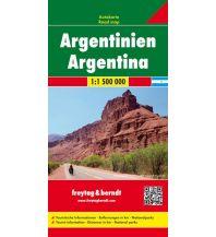 f&b Straßenkarten f&b Autokarte Argentinien 1:1,5 Mio. Freytag-Berndt und ARTARIA