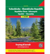 f&b Straßenkarten Tschechische - Slowakische Republik, Autoatlas 1:150.000 Freytag-Berndt und ARTARIA