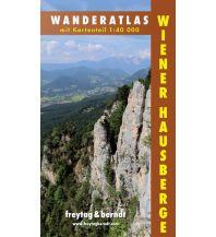 f&b Wanderkarten Wanderatlas Wiener Hausberge, 1:40.000 Freytag-Berndt und ARTARIA