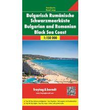 f&b Straßenkarten freytag & berndt Auto + Freizeitkarte Bulgarisch-Rumänische Schwarzmeerküste 1:150.000 Freytag-Berndt und ARTARIA