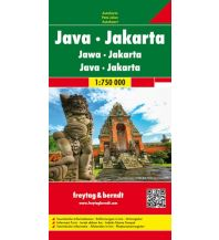 f&b Straßenkarten f&b Autokarte Java - Jakarta 1:750.000 Freytag-Berndt und ARTARIA