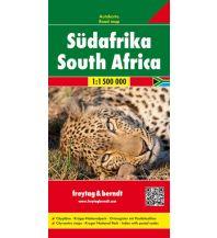 f&b Straßenkarten f&b Autokarte Südafrika 1:1,5 Mio. Freytag-Berndt und ARTARIA
