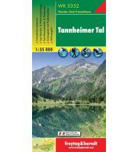 f&b Wanderkarten WK 5352 Tannheimer Tal, Wanderkarte 1:35.000 Freytag-Berndt und ARTARIA