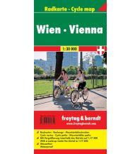 f&b Wanderkarten Radkarte Wien 1:30.000 Freytag-Berndt und ARTARIA