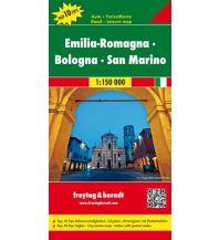 f&b Straßenkarten freytag & berndt Auto + Freizeitkarte Emilia-Romagna - Bologna - San Marino 1:150.000 Freytag-Berndt und ARTARIA