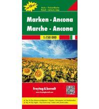 f&b Straßenkarten freytag & berndt Auto + Freizeitkarte Marken - Ancona 1:150.000 Freytag-Berndt und ARTARIA