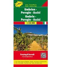 f&b Straßenkarten freytag & berndt Auto + Freizeitkarte Umbrien - Perugia - Assisi 1:150.000 Freytag-Berndt und ARTARIA