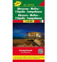 f&b Straßenkarten freytag & berndt Auto + Freizeitkarte Abruzzen - Molise - L'Aquila - Campobasso 1:150.000 Freytag-Berndt und ARTARIA
