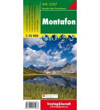 f&b Wanderkarten WK 5507 Montafon, Wanderkarte 1:35.000 Freytag-Berndt und ARTARIA