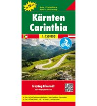f&b Straßenkarten freytag & berndt, Auto-Rad-Freizeitkarte Kärnten 1:150.000 Freytag-Berndt und ARTARIA