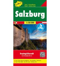 f&b Straßenkarten freytag & berndt Auto-Rad-Freizeitkarte, Salzburg 1:150.000 Freytag-Berndt und ARTARIA