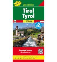 f&b Straßenkarten freytag & berndt Auto-Rad-Freizeitkarte Tirol 1:150.000 Freytag-Berndt und ARTARIA