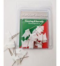 Pins und Fähnchen Pin Fähnchen weiß Freytag-Berndt u. Artaria KG Planokarten