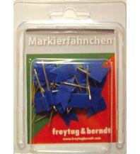 Pins und Fähnchen Pin Fähnchen blau Freytag-Berndt u. Artaria KG Planokarten