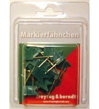 Pins und Fähnchen Pin Fähnchen grün Freytag-Berndt u. Artaria KG Planokarten