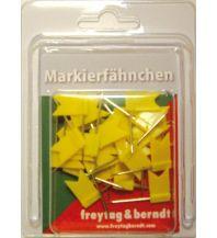 Pins und Fähnchen Pin Fähnchen gelb Freytag-Berndt u. Artaria KG Planokarten