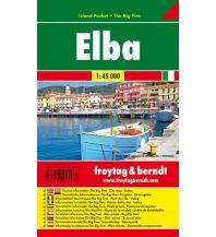 f&b Wanderkarten freytag & berndt Island Pocket Elba 1:45.000 Freytag-Berndt und ARTARIA