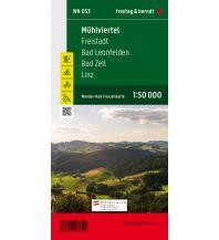 f&b Wanderkarten WK 053 Mühlviertel - Freistadt - Bad Leonfelden - Bad Zell - Linz, Wanderkarte 1:50.000 Freytag-Berndt und ARTARIA