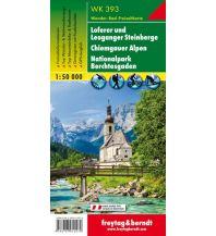 f&b Wanderkarten WK 393 Loferer und Leoganger Steinberge, Chiemgauer Alpen, Nationalpark Berchtesgaden, Wanderkarte 1:50.000 Freytag-Berndt und ARTARIA