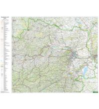 Österreich Wandkarte-Markiertafel: Niederösterreich 1:200.000 Freytag-Berndt u. Artaria KG