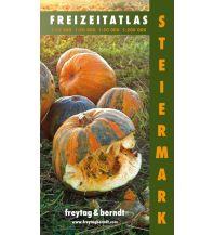 f&b Wanderkarten Steiermark, Freizeitatlas 1:12.500 - 1:200.000 Freytag-Berndt und ARTARIA