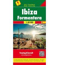 f&b Straßenkarten freytag & berndt Auto + Freizeitkarte Ibiza - Formentera 1:40.000 Freytag-Berndt und ARTARIA