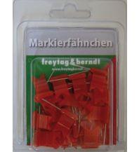 Pins und Fähnchen Markierfähnchen wehend, Rot Freytag-Berndt u. Artaria KG Planokarten