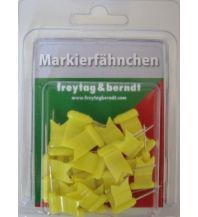 Pins und Fähnchen Markierfähnchen wehend, Gelb Freytag-Berndt u. Artaria KG Planokarten