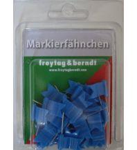 Pins und Fähnchen Markierfähnchen wehend, Blau Freytag-Berndt u. Artaria KG Planokarten