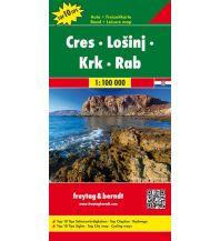 f&b Straßenkarten freytag & berndt Auto + Freizeitkarte, Cres - Lošinj - Krk - Rab 1:100.000 Freytag-Berndt und ARTARIA