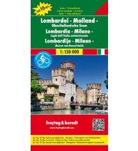 f&b Straßenkarten freytag & berndt Auto + Freizeitkarte Lombardei - Mailand - Oberitalienische Seen 1:150.000 Freytag-Berndt und ARTARIA